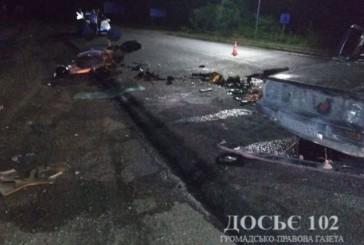 Загиблий та троє травмованих – поліцейські встановлюють обставини ДТП в Чортківському районі