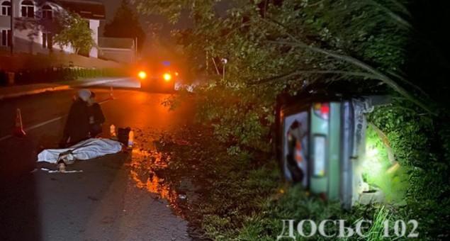 На Тернопільщині водій іномарки збив двох пішоходів
