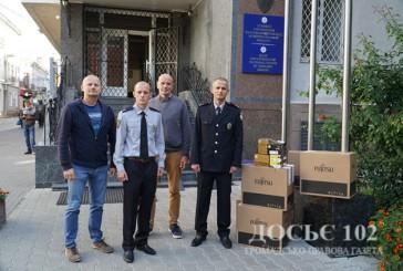 Криміналісти Тернопільщини отримали нове обладнання від представників КМЄС