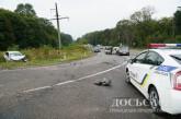 Поблизу Тернополя зіткнулись три авто, є постраждалий