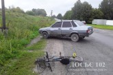 Причини травмування велосипедистки встановлюють слідчі Тернопільщини
