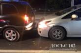 У Тернополі п'яна водійка вчинила ДТП та розбила вікно в патрульному авто